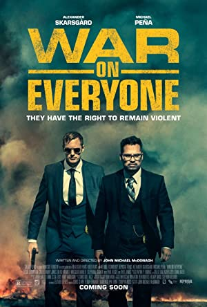 Watch War on Everyone Full Movie Online Free